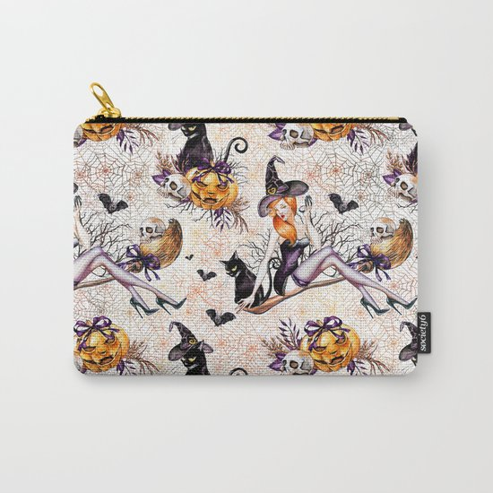 Halloween Witch #2 Carry-All Pouch