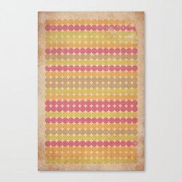 Pingstripe Canvas Print