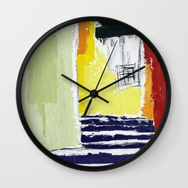 town view Wall Clock