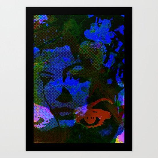 Cool Blues  Art Print
