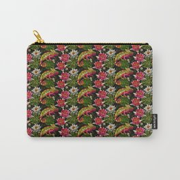 Tropical Chameleon Pattern Carry-All Pouch