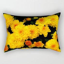 Golden Dew Drops. Rectangular Pillow