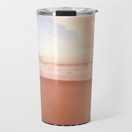 Sunset on Rockaway Beach, New York Travel Mug
