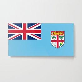 Flag of Fiji Metal Print