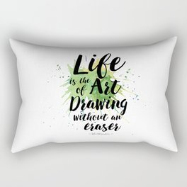 life quote 1 Rectangular Pillow