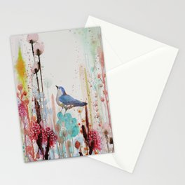 toujours dans mon coeur Stationery Cards