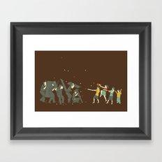 The children are revolting Framed Art Print
