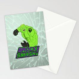 Brock Smash! Stationery Cards