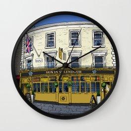 London Pub Wall Clock