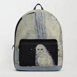 """""""The Snow Queen"""" Fairy Tale Art by Edmund Dulac Backpack"""