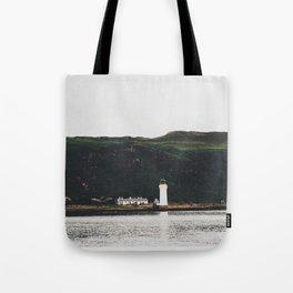 The Rubha Nan Gall Lighthouse Tote Bag