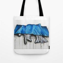 Down Dog Tote Bag