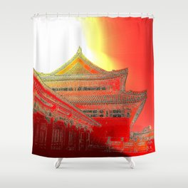 The Peasants' Sun/Emperor's Palace Shower Curtain