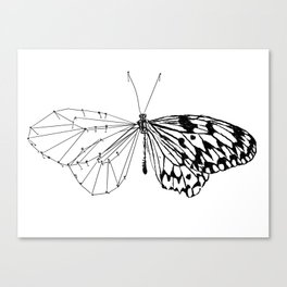 Butterfly under construction Canvas Print