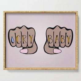 Knucks: Cry Baby Serving Tray