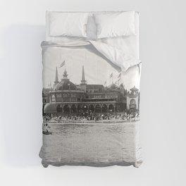 Santa Cruz Beach Boardwalk 1911 Comforters