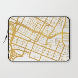 PERTH AUSTRALIA CITY STREET MAP ART Laptop Sleeve