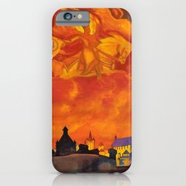 Nicholas Roerich - St Sophia The Almighty Wisdom - Digital Remastered Edition iPhone Case