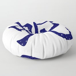 Chinese Year of the Snake Floor Pillow