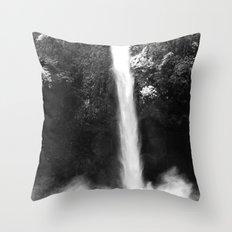 Getting Wet Throw Pillow