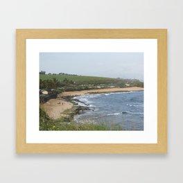 Hawaii Coast Line Framed Art Print