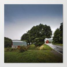north carolina barnyards Canvas Print