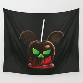 Bat's Day Apple Wall Tapestry
