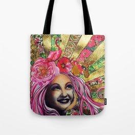 Cyndi Lauper's so unusual! Tote Bag