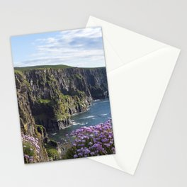 Sea Pink On The Cliffs Stationery Cards