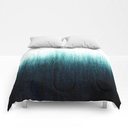 Teal Ombré Comforters