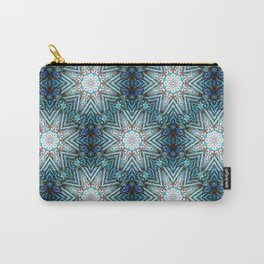 Eight Pointed Star Pattern Carry-All Pouch
