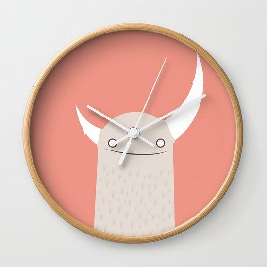 Moonster Wall Clock