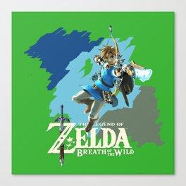 Link new Adventure Canvas Print