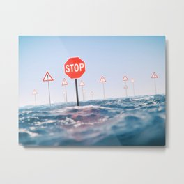 Unstoppable Metal Print