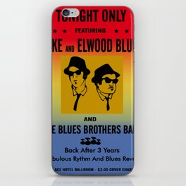 Mission From God Blues Brothers iPhone Skin
