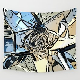Halftones Abstract Wall Tapestry
