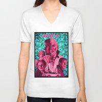 drive V-neck T-shirts featuring Drive by David Amblard