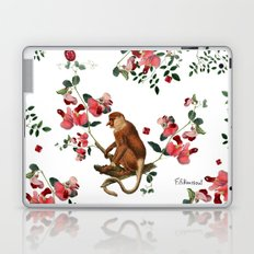Monkey World: Nosy - White Laptop & iPad Skin