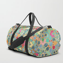 Gilt & Glory - Colorful Moroccan Mosaic Duffle Bag