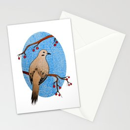 Good Mourning, Dove (With White) Stationery Cards