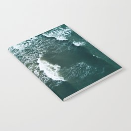 Wavy Waves on a stormy day Notebook