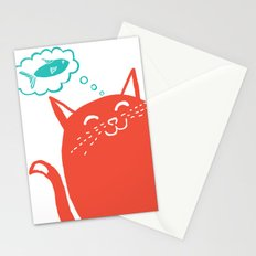 Me Want Fish Stationery Cards