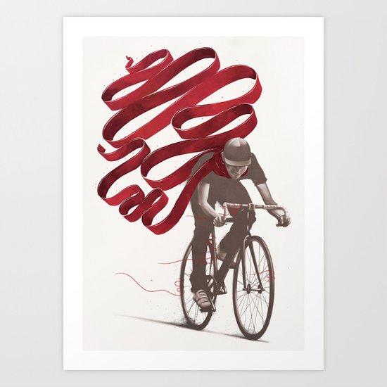 Loose Threads Art Print