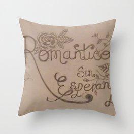 Romantico Sin Esperanza. Throw Pillow