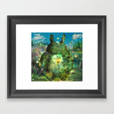 best neighbor  Framed Art Print