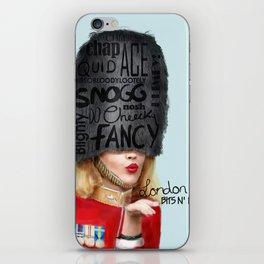 London Bits N' Bobs iPhone Skin