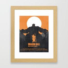 Dragon Ball - Oozarus Shadow Framed Art Print