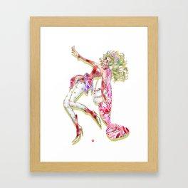 Terra Modern Style Framed Art Print
