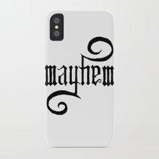 Unleash MAYHEM Slim Case iPhone X