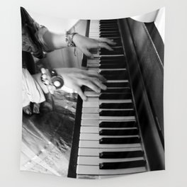 BEAUTIFUL MUSIC Wall Tapestry